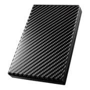 HDPT-UT500K [USB 3.0/2.0対応 ポータブルハードディスク 「高速カクうす」 カーボンブラック 500GB]