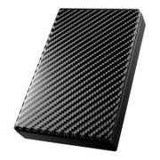 HDPT-UT2DK [USB 3.0/2.0対応 ポータブルハードディスク 「高速カクうす」 カーボンブラック 2TB]
