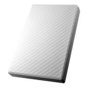 HDPT-UT1W [USB 3.0/2.0対応 ポータブルハードディスク 「高速カクうす」 セラミックホワイト 1TB]