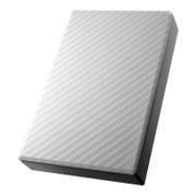 HDPT-UT2DW [USB 3.0/2.0対応 ポータブルハードディスク 「高速カクうす」 セラミックホワイト 2TB]