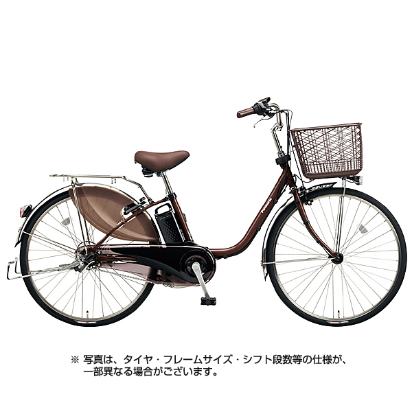 BE-ELD434T [電動アシスト自転車 ビビ・DX 24型 16Ah 内装3段変速 チョコブラウン 2018年モデル]