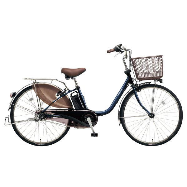 BE-ELD634V [電動アシスト自転車 ビビ・DX 26型 16Ah 内装3段変速 USブルー 2018年モデル]