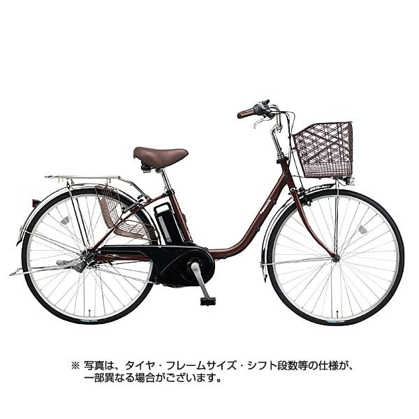 BE-ELTX433T [電動アシスト自転車 ビビ・TX 24型 6.6Ah 内装3段変速 チョコブラウン 2018年モデル]