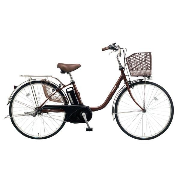 BE-ELTX633T [電動アシスト自転車 ビビ・TX 26型 6.6Ah 内装3段変速 チョコブラウン 2018年モデル]