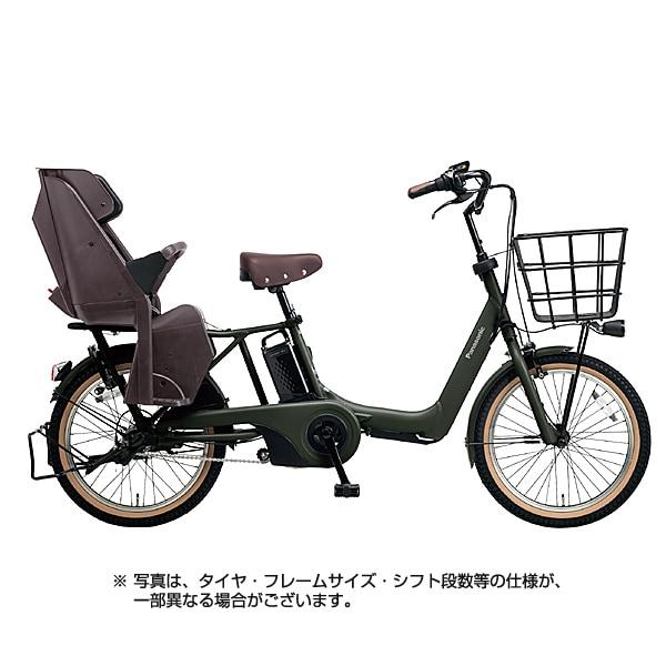 BE-ELA03G [電動アシスト自転車 ギュット・アニーズ・DX 20型 16Ah 内装3段変速 マットディープグリーン 2018年モデル]