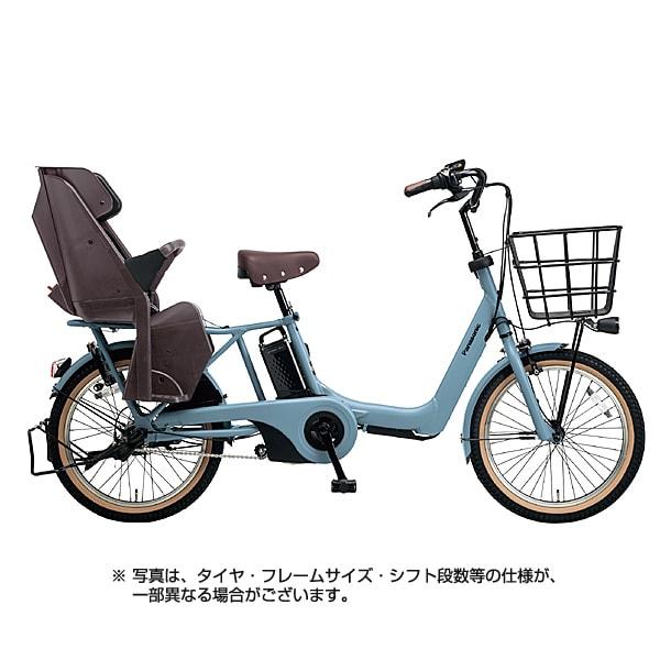 BE-ELA03V2 [電動アシスト自転車 ギュット・アニーズ・DX 20型 16Ah 内装3段変速 マットブルーグレー 2018年モデル]