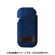 iQCA02-DE [IQOS(アイコス) ハードケース 革貼 デニム]