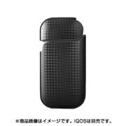 iQCA02-CABK [IQOS(アイコス) ハードケース 革貼 カーボン ブラック]