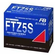 FTZ5S [バイク用バッテリー 液入り充電済み]