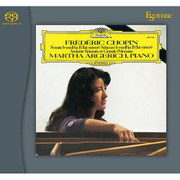 ESSG-90172 [Super Audio CDハイブリッドソフト ショパン:ピアノ・ソナタ 第2番(葬送行進曲付き)第3番/アンダンテ・スピアナートと華麗なる大ポロネーズ/スケルツォ第2番 マルタ・アルゲリッチ(ピアノ)]