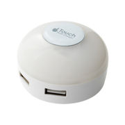 IPA-34LLD/WH [LEDライト搭載 USB2ポート USB-ACアダプタ 電球色]