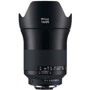 Milvus 1.4/25 ZF.2 [ミルバス 25mm/F1.4 ZF.2 ニコンFマウント ブラック]