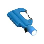 JF-PEACE7BU [ライト付カラビナ型フック式防水モバイルバッテリー 「世界登山」 ブルー]