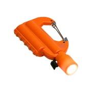 JF-PEACE7OR [ライト付カラビナ型フック式防水モバイルバッテリー 「世界登山」 オレンジ]