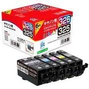 JIT-KC3266P [キヤノンBCI-326+325/6MP互換リサイクルインクカートリッジ]