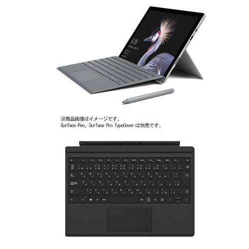 HGG-00004/Surface Pro タイプカバーブラック セット [FJR-00014 Surface Pro(サーフェス プロ) Core m3/128GB/メモリ4GBモデル + FMM-00019 Surface Pro タイプカバー ブラック]