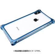 GI-422BL [ソリッドバンパー for iPhone XS/X ブルー]