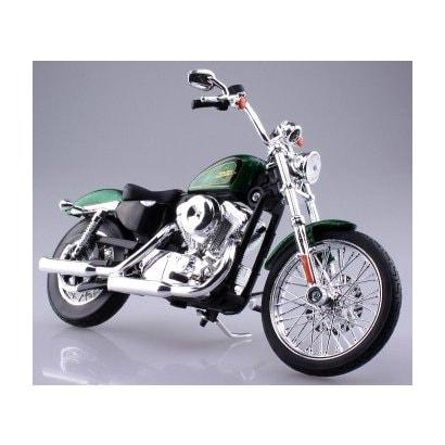 1/12 ハーレー ダビッドソン XL 1200V セブンティーツー 2012 グリーン [ミニカー]
