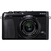 X-E3 XF23mmF2 R WR キット ブラック [ボディ+交換レンズ XF23mm F2 R WR ブラック]