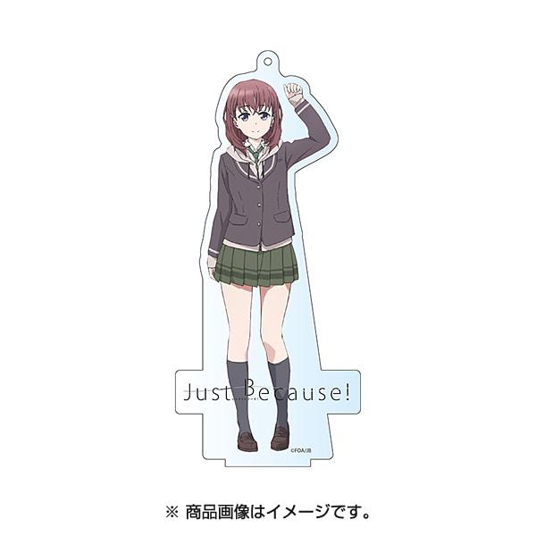 Just Because! デカアクリルスタンド 夏目美緒 [38×95.5mm]