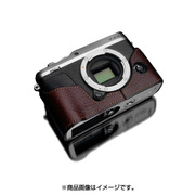 XS-CHXE3BR [富士フイルム X-E3用 本革カメラハーフケース ブラウン]