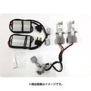 D-1619 [EVOLVA LED ヘッドライト H4 Hi/Low 6500k TopFan]