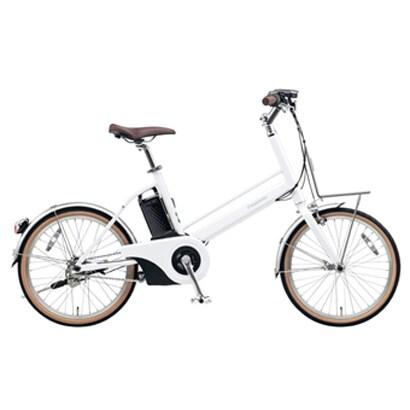 BE-JELJ03F [軽量電動アシスト自転車 Jコンセプト 20型 12.0Ah 内装3段変速 前かご用フロントキャリア付き クリスタルホワイト 限定モデル]