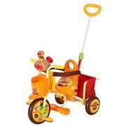 おでかけ三輪車 それいけ!アンパンマンごうピースII オレンジ