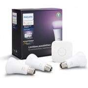 PLH03CS [LED電球 Hue(ヒュー) スターターセットV3(ブイスリー) 3個入]