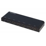 GH-HSWB5-BK [HDMIセレクタ 手動切り替えモデル Input5+Output1ポート]