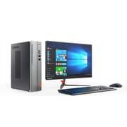 90GB00D7JP [Lenovo ideacentre 510S LCDデスクトップパソコン 21.5型ワイド/Core i5-7400/メモリ 8GB/HDD 1TB/DVDスーパーマルチドライブ/Windows 10 Home 64bit/Microsoft Office Home & Business Premium プラス Office 365 サービ/シルバー+ブラック]