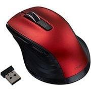 MUS-RKF144R [BlueLED 無線 静音マウス Mサイズ F_line 5ボタン レッド]
