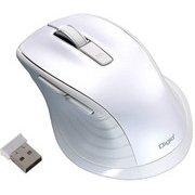 MUS-RKF144W [BlueLED 無線 静音マウス Mサイズ F_line 5ボタン ホワイト]