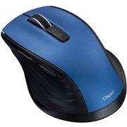 MUS-BKF146BL [BlueLED Bluetooth 静音マウス Mサイズ F_line 5ボタン ブルー]