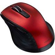 MUS-BKF146R [BlueLED Bluetooth 静音マウス Mサイズ F_line 5ボタン レッド]