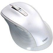 MUS-BKF149W [BlueLED Bluetooth 静音マウス Lサイズ F_line 5ボタン ホワイト]