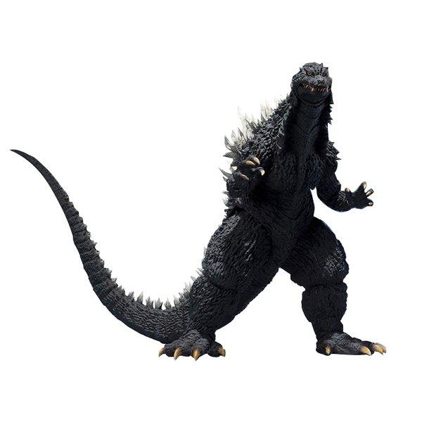 S.H.MonsterArts ゴジラ (2002) [ゴジラ×メカゴジラ 全高約155mm 塗装済可動フィギュア]
