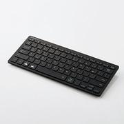 TK-FBP102XBK [Bluetoothミニキーボード パンタグラフ式 軽量 マルチOS対応 日本語配列 ブラック]