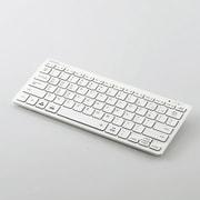TK-FBP102XWH [Bluetoothミニキーボード パンタグラフ式 軽量 マルチOS対応 日本語配列 ホワイト]