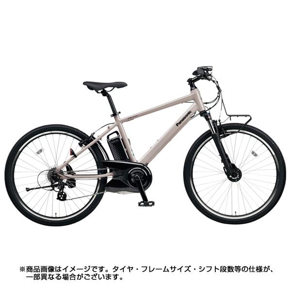 BE-ELH242A N [電動アシストスポーツタイプ自転車 ハリヤ 26型 12Ah 外装7段変速 ストーングレー 2018年モデル]