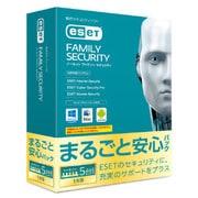 ESET ファミリー セキュリティ まるごと安心パック 1年版 [ウィルス対策ソフト]