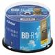 VBR130YP50SJ1 [BD-R(Video) <片面1層> 1回録画用 130分 1-4倍速 50枚スピンドルケース50P インクジェットプリンタ対応(ホワイト) ワイド印刷エリア対応]