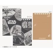 スター・ウォーズ トラベルステッカーデザインシリーズ リングメモ(2冊セット) [W88×H25×D5mm]