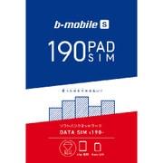 BS-IPA-PSDN [b-mobile S 190PadSIM(ナノSIMパッケージ)]