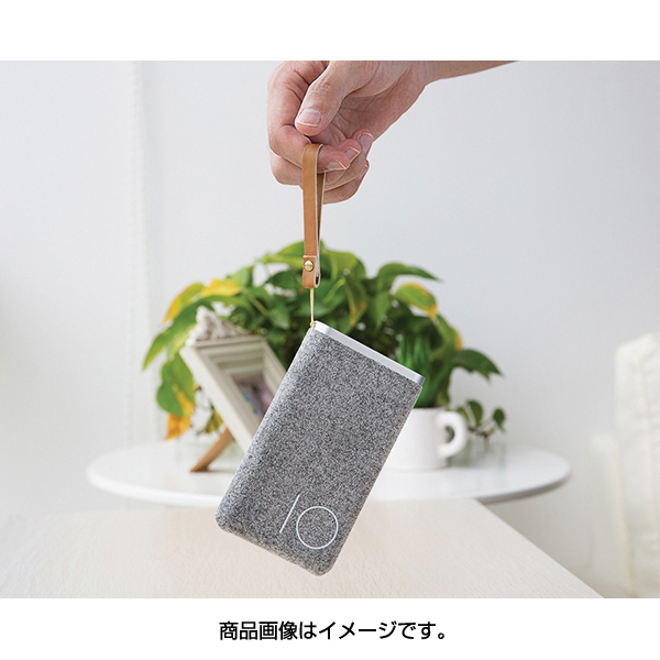 RO-PS-GY [モバイルバッテリー Powersack Type-CPowerBank10000mAh グレー]