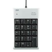 NT-16UH2PKN [USB2.0ハブ付テンキー(シルバー)]