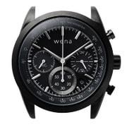 WH-CS01/B [wena wrist Solar Head Chronograph Black (ウェナリスト ソーラーヘッド クロノグラフ ブラック)]