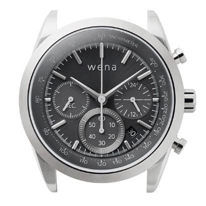 WH-CS01/S [wena wrist Solar Head Chronograph Silver (ウェナリスト ソーラーヘッド クロノグラフ シルバー)]