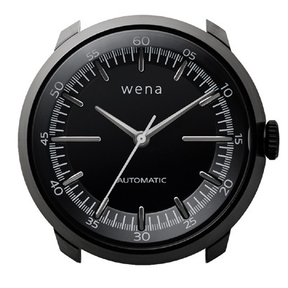 WH-TM01/B [wena wrist Mechanica Head Black (ウェナリスト メカニカルヘッド 機械式 ブラック)]