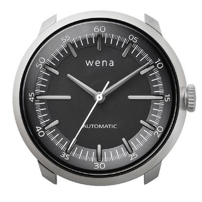 WH-TM01/S [wena wrist Mechanica Head Silver (ウェナリスト メカニカルヘッド 機械式 シルバー)]